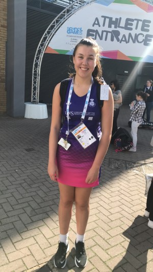 Netball superstar Cerys Cairns selected to play for Scotland