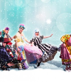 Perth's Pantomime this festive season is Snow White and the Seven Dames!