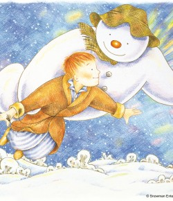 It isn't Christmas until The Snowman has taken you on his magical journey through the winter sky!