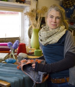 There's a pattern running through Ruth Morris's life-long love affair with textiles that suggests her latest venture will run and run.