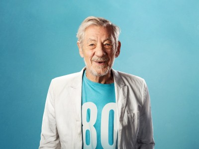 Sir Ian McKellen takes to Perthshire