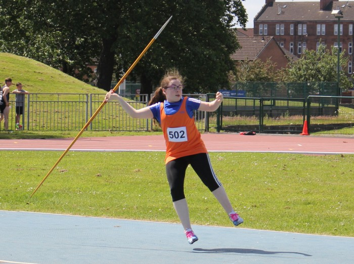Javelin requires a fine balance of strength, precision and good aim.