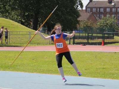Freya Howgate, an athlete on the rise