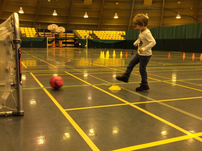 James is having a great time at the Active Steeps class at Bells Sports Centre.