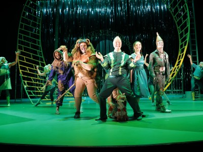 We're off to see the Wizard! The wonderful wizard of Oz!