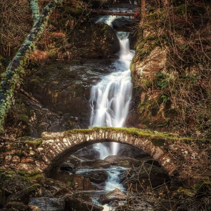 Tom Ryan perfectly captures the Perthshire landscape with his image of the frosty tumbling waterfall at Glen Lyon.