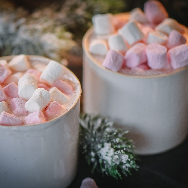 Spiced Hot Chocolate with Gin