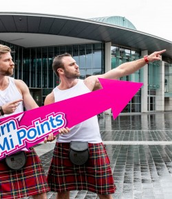 Perth shoppers are reaping their Mi-Rewards with an exciting new loyalty scheme which is the first of its kind in the UK.