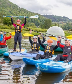 Get outdoors this Winter with an action packed day at Willowgate Activities Centre