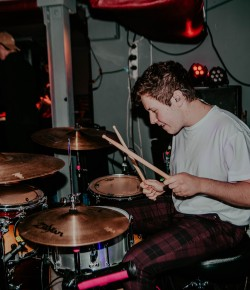 Perth's Kyle Fummey is the 18 year old drummer taking Perth - and the wider world - by storm. Fresh from performing at Edinburgh's 2019 Hogmanay celeb