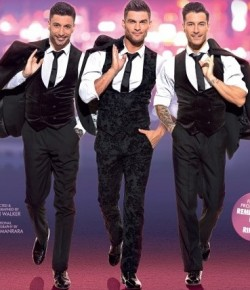 Here Come The Boys featuring Aljaž Škorjanec, Giovanni Pernice and Gorka Marquez will be like no other Strictly show.