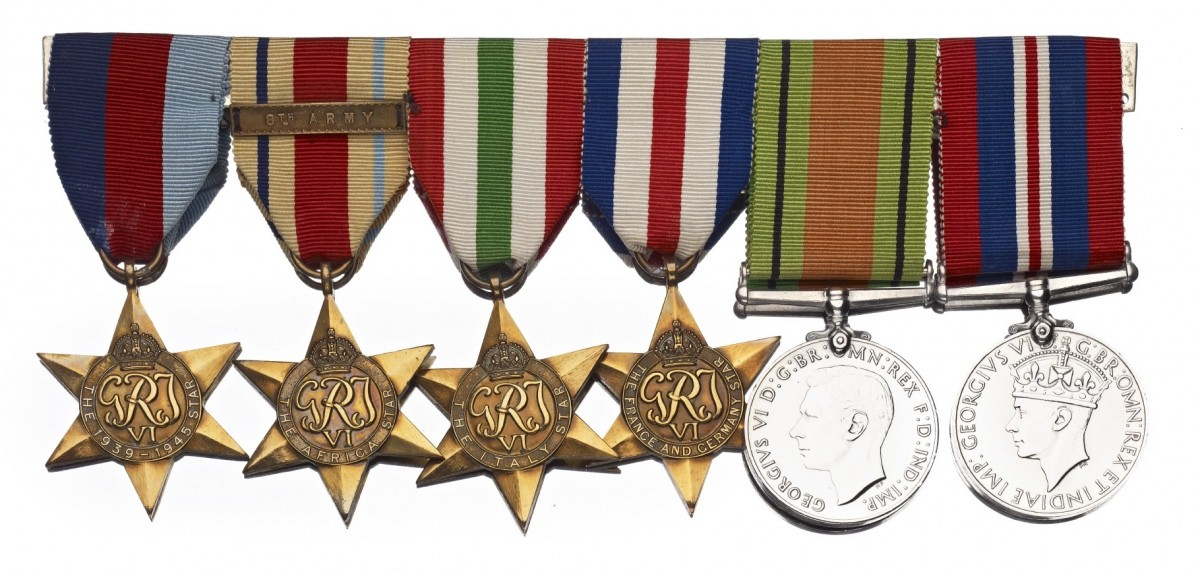Many military medals have a personal and emotional significance to the people they were awarded to and their families.