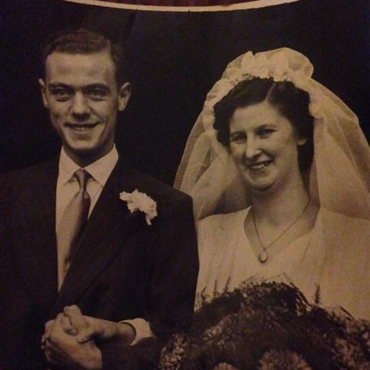 Airley sent in this beautiful photo of her grandad and nana, Douglas and Margaret Cunningham - married in St. Paul's Church in 1952.