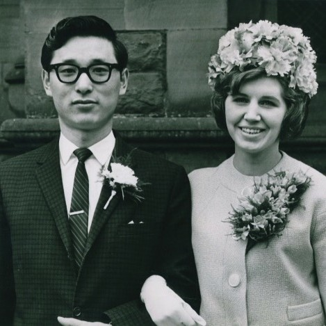 My husband (Joe Hing Koo)  and I (Kathleen Anne Armour) were married in Perth  Registry  Office on Saturday the 11th of April, 1964.