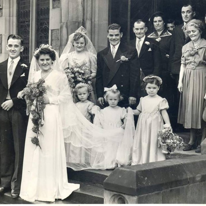 Fred sent us in this pic of his mum and dad, married August 8th 1951!