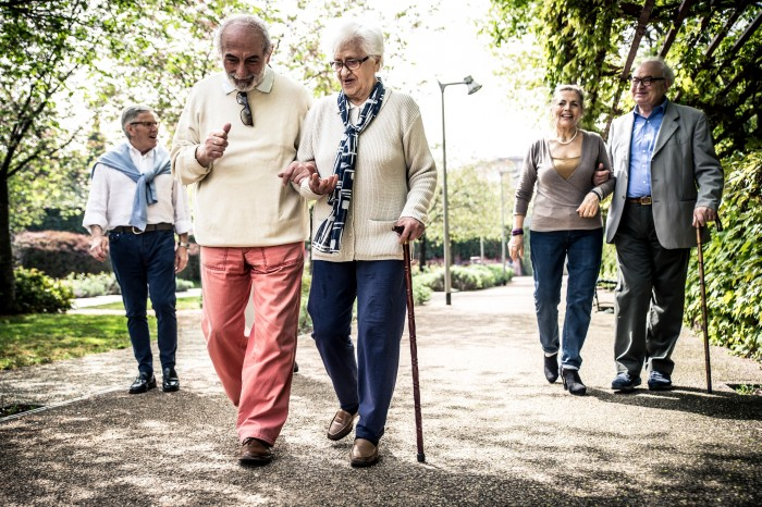 Dementia Friendly Walking is great for physical health, and can assist in slowing down the disease progress.