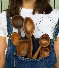 Carve your very own wooden spoon with the very talented local designer Louise from Louise Forbes Design.