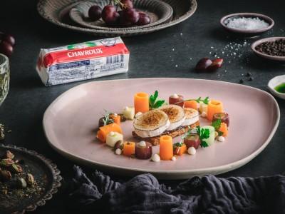 Chavroux Goats Cheese Tart