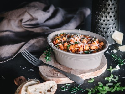 Italian Bean Stew With Tomato and Rosemary