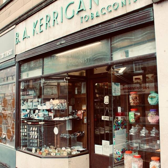 B. A. Kerrigan is Perth's only specialist tobacconist and confectionery shop and has stood proudly serving Perth  for over 100 years!