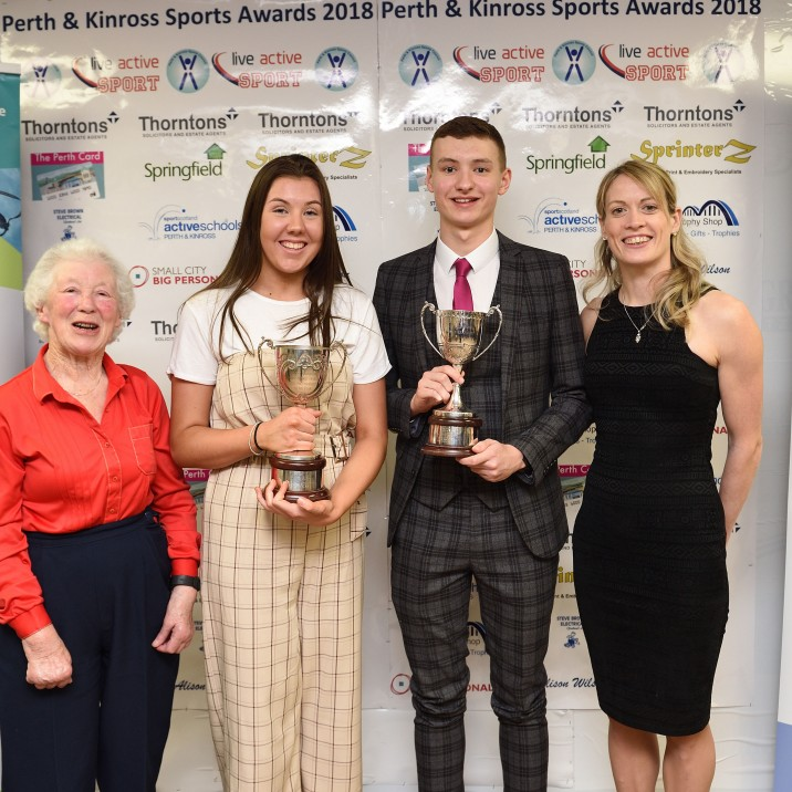 2018 Young Male Sports Personality of the Year, sponsored by Alison Wilson