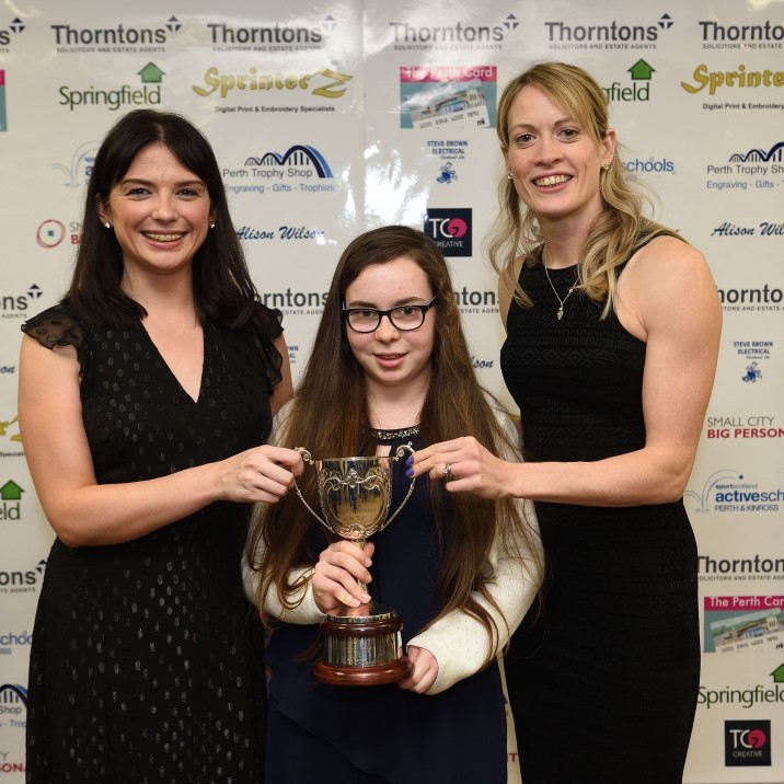 2018 Disability Sports Person of the Year, sponsored by Small City, Big Personality (Trophy presented by Holly MacDonald)