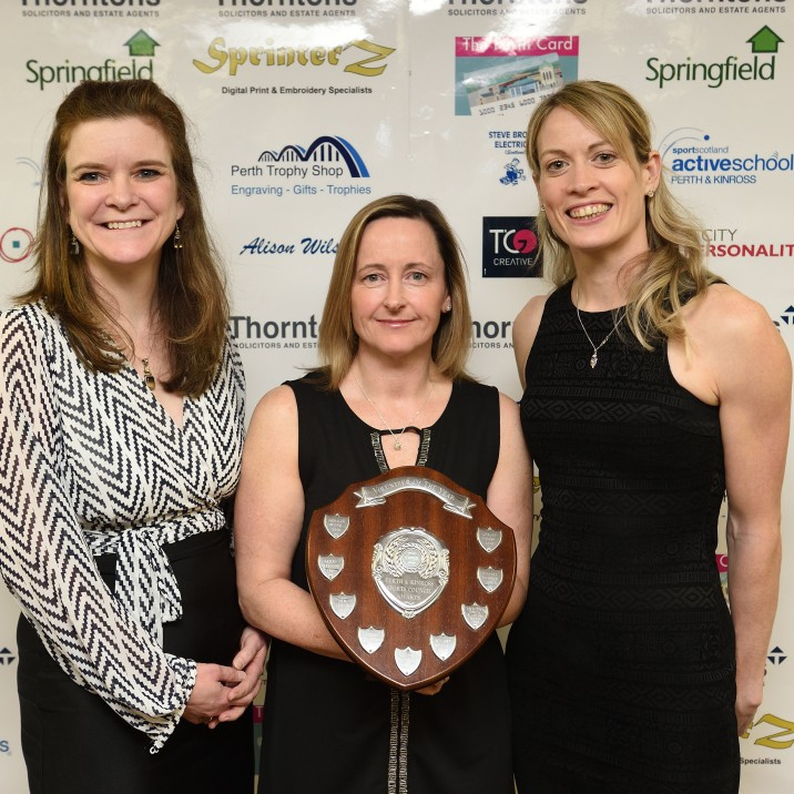 2018 Volunteer of the Year, sponsored by Perth Trophy Shop (Trophy presented by Shona Watt)
