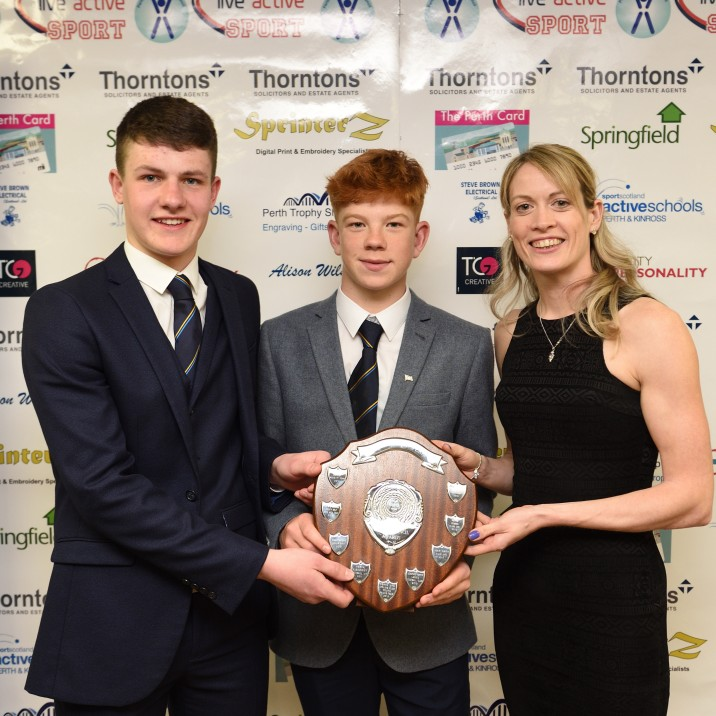 2018 Team of the Year, sponsored by Springfield Properties (Trophy presented by Eilidh Doyle )