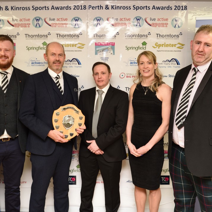 2018 Club of the Year, sponsored by Steve Brown Electrical (Trophy presented by Bobby Munro)