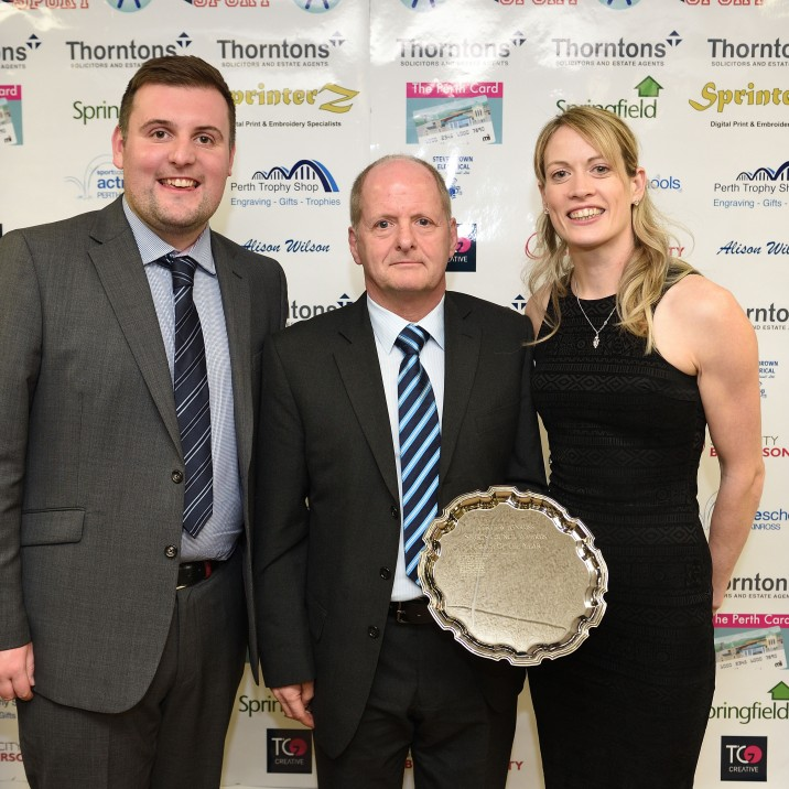 2018 Coach of the Year, sponsored by Sprinterz (Trophy presented by Eilidh Doyle)