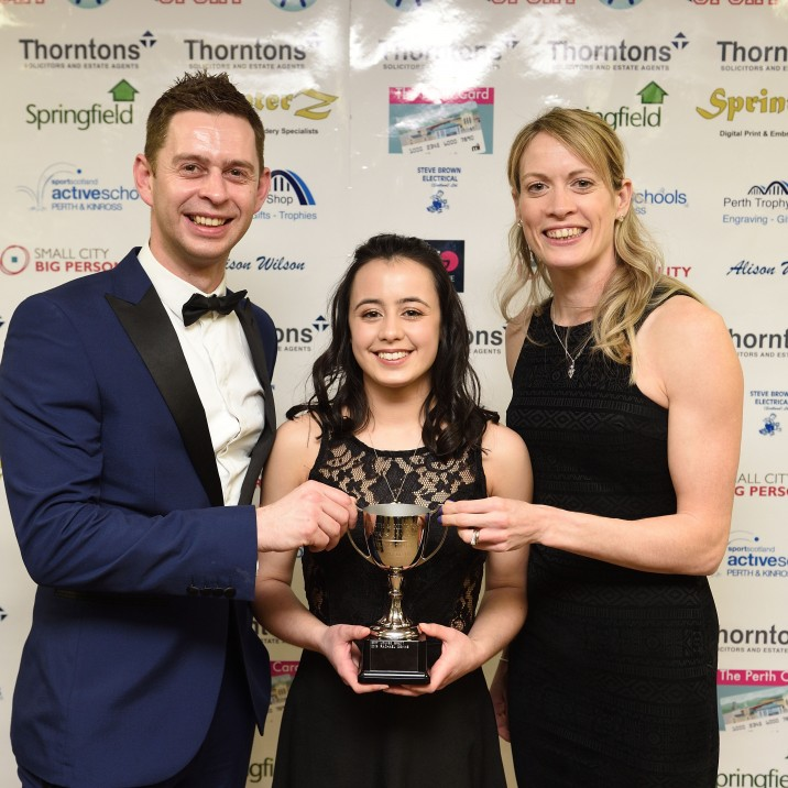 2018 Young Coach of the Year, sponsored by T'Go Creative (Trophy presented by Gary Paterson)