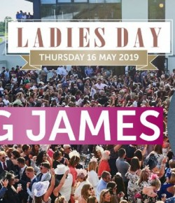 Greg James of BBC Radio 1 will be entertaining the crowd after 7 thrilling races on Thursday 16 May at Ladies Day! We've got all the details on everyt