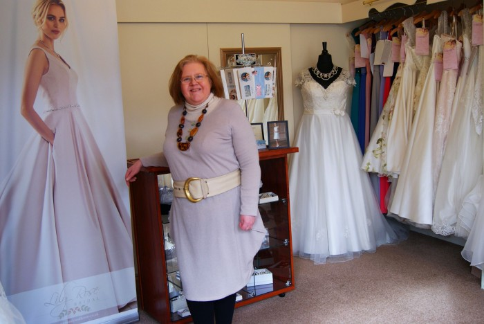 Wendy Beck is the owner of the popular bridal shop La Beck in Perth City Centre.