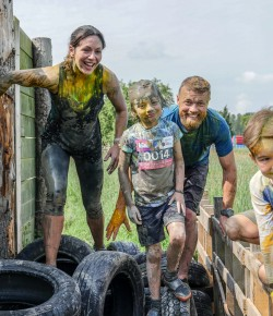 The super fun - and messy - family friendly event PKAVS Muddy Colour Mayhem returns for another year.