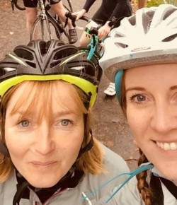 Two friends from Perthshire have signed up for this year's Etape Caledonia after falling in love with cycling and its physical and mental health benef