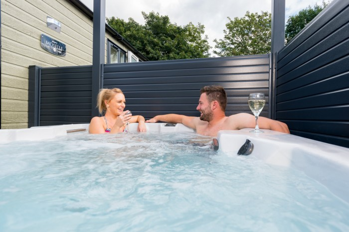 Staycation - wood leisure hot tub