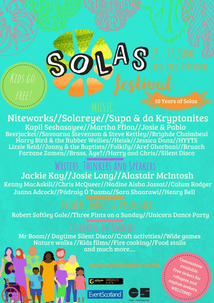 SOLAS LINE UP 2019