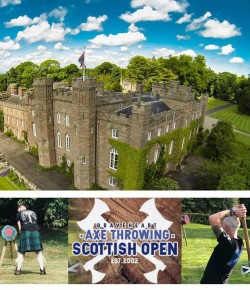 Head to Scone Palace for an action packed day on Sunday 5th May when they will be hosting the Scottish Axe Throwing Open!