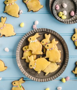 Bake these super cute and oh-so delicious Bunny Biscuits shaped like the mischevious Easter rabbit!