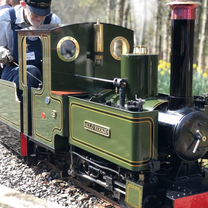 Wester Pickston Railway just outside Methven in Perth is home to The Scottish Model Engineering Trust