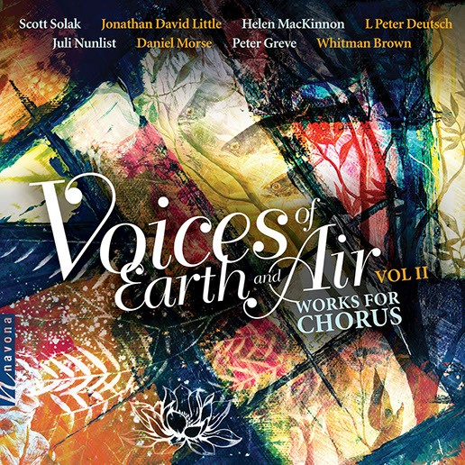Helen Mac - Voices of Earth And Air Cover Artwork