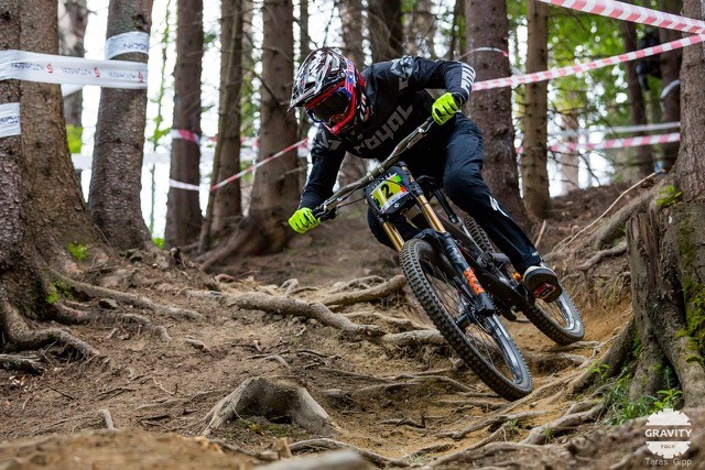 Sam Herd, Perthshire based downhill mountain biker, is one of the Live Active Leisure Talented Athletes