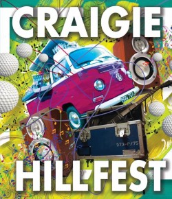 A jam packed day and night of live music awaits at the fourth annual Craigie Hill festival.