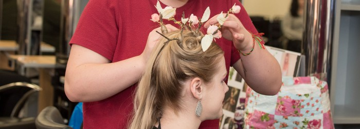 Study Hairdressing at Perth College UHI.