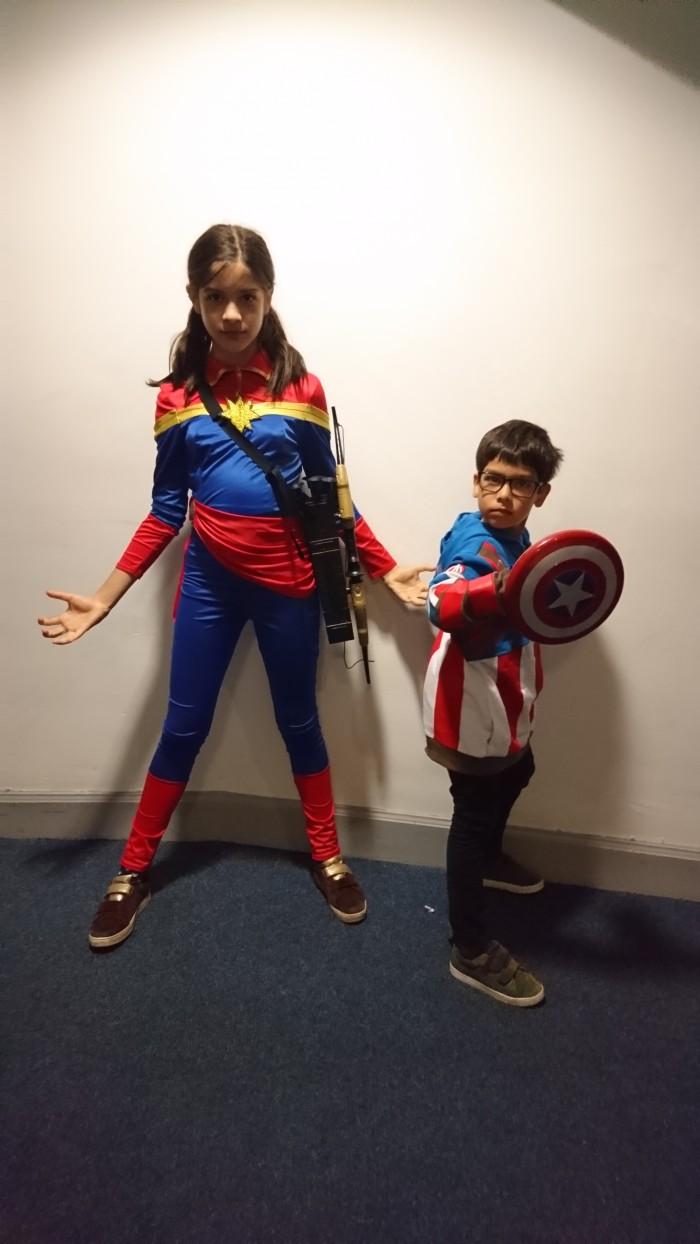 Josh- Wonder Woman and Captain America