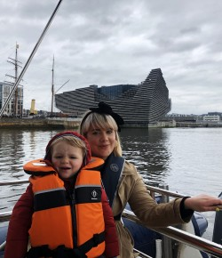 Setting sail from Broughty Ferry to Perth City Centre