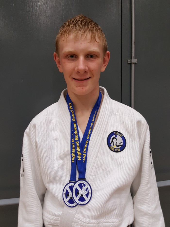 Gregor has displayed huge potential and is currently part of Judo Scotland Cadet Performance Squad where Gary Edwards is his coach.