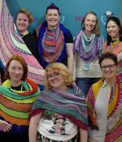 The inaugural Perth Festival of Yarn brings a bright, colourful splash of artisan crafting to Perth City Centre.