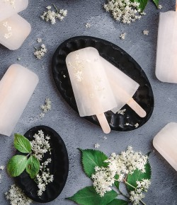 Elderflower Cordial Ice Lollies