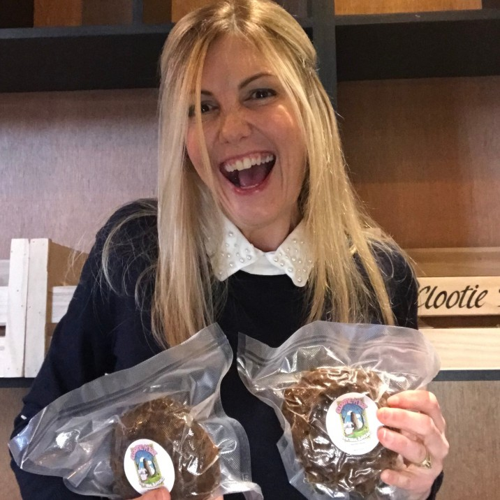 Michelle Maddox is the brains behind Abernethy's 'Clootie McToot Dumplings'.  We caught up with her for a chat.